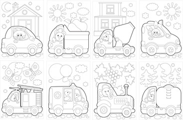 "Coloring book ""Cars"""