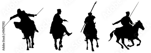 The Cossacks (silhouettes)_04