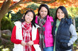 Young Asian Girls in Park