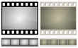 Standard photo film frame seamless template.