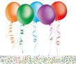 Party mit Luftballons