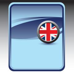 british flag blue backdrop