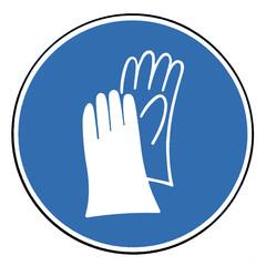 Handschutz tragen