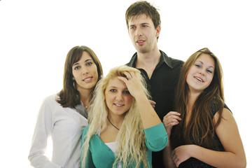 teen group isolate