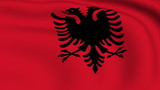 Flying Flag of Albania   LOOPED   poster