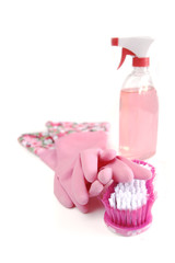 Pink cleaning kit