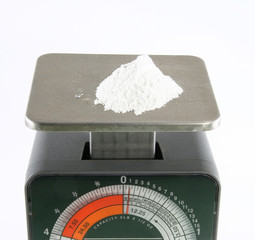Weighing drugs