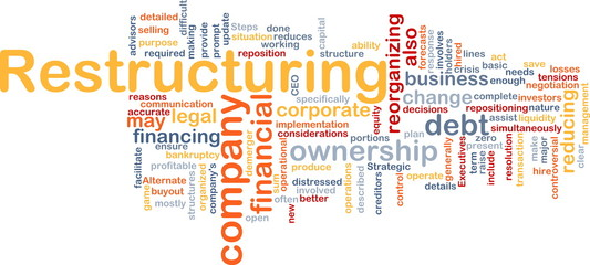 Restructuring word cloud