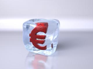 Ice cube Euro