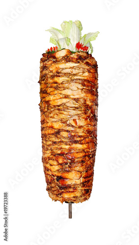 canvas print picture Doner kebab