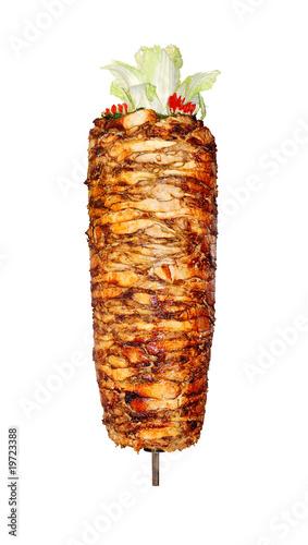 Leinwandbild Motiv Doner kebab