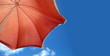 Parasol de plage.