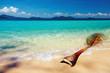 Tropical beach, Wai island, Thailand