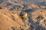 Hot air in the desert