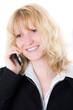 Telefonierende Geschäftsfrau