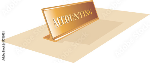 Illustration of Accounting department,