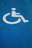Parkingspace for disabled poster