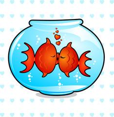 Pesci innamorati