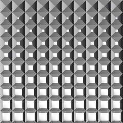 mosaic 3D abstract background - vector illustration