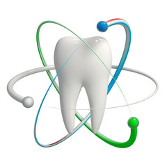 Protected tooth