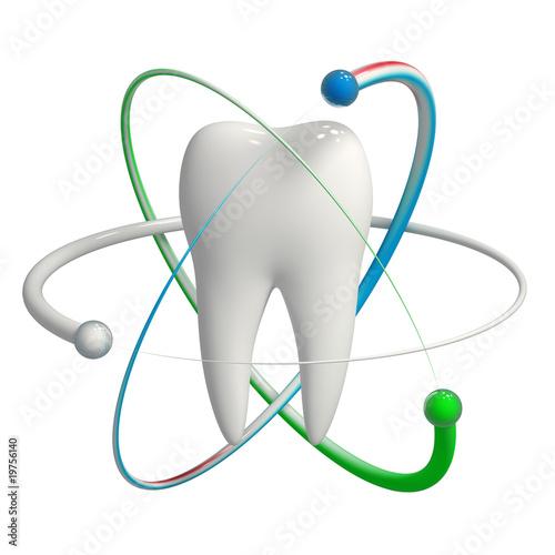 Geschützter Zahn