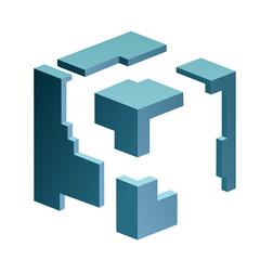 construction  cube