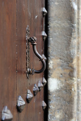 medieval door knocker
