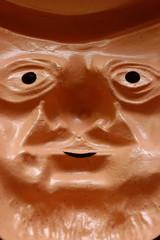 Maschera di carnevale a rovescio