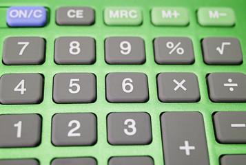 Calculator Macro - Taschenrechner Nahaufnahme