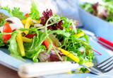 Fototapety frischer bunter salat