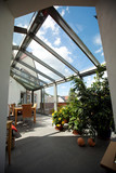 Fototapety moderner wintergarten