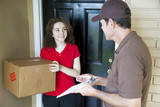 Delivering a Package poster