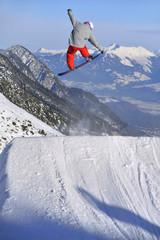 Snowboard Sprung