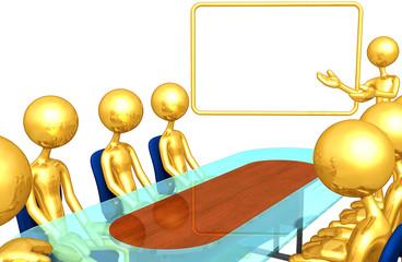 Gold Guy Presentation Meeting
