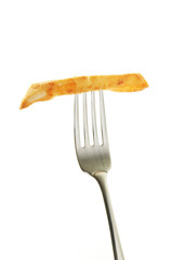 Chip on a fork