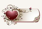 Fototapety Valentines Banner