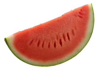 watermelon isolated on white.