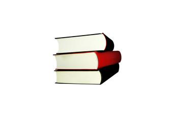 Bücher freigestellt