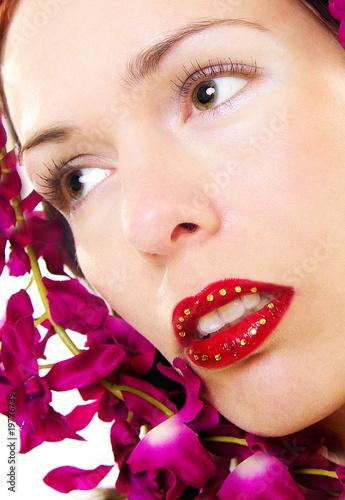 Fototapeten,lippen,lippen,lippen,red lips