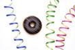 Donut mit Ludtschlangen