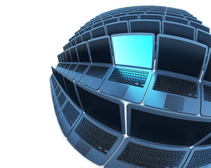 Spherical laptops 2 (laptops series)