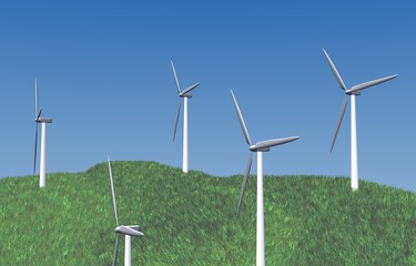 Some wind turbines