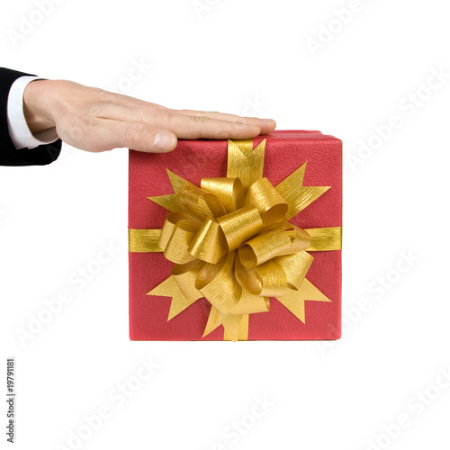 Fancy box. Isolated on white background.
