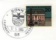 Постер, плакат: Bonn special postmark