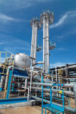 Gas industry. sulfur-refinement poster