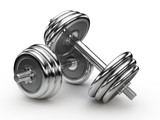 Fototapety Dumbell weights