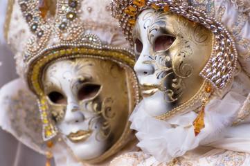 Venezia -Maschere di carnevale