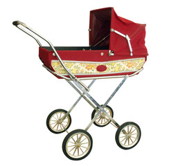 Doll's Pram with path