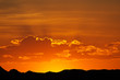 Desert sunset, Namibia, southern Africa