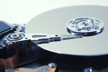 Festplatte Ausschnitt